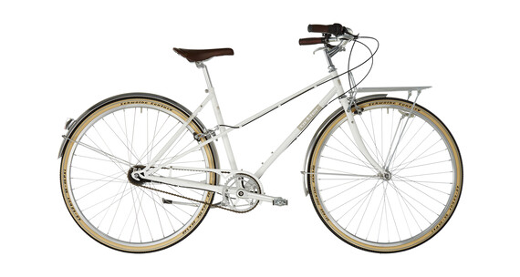 Ortler Bricktown Naiset kaupunkipyörä , valkoinen